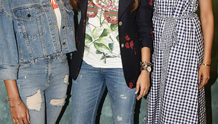Photos Deepika Padukone and sister Anisha Padukone at Neha Dhupia BFFs with Vogue
