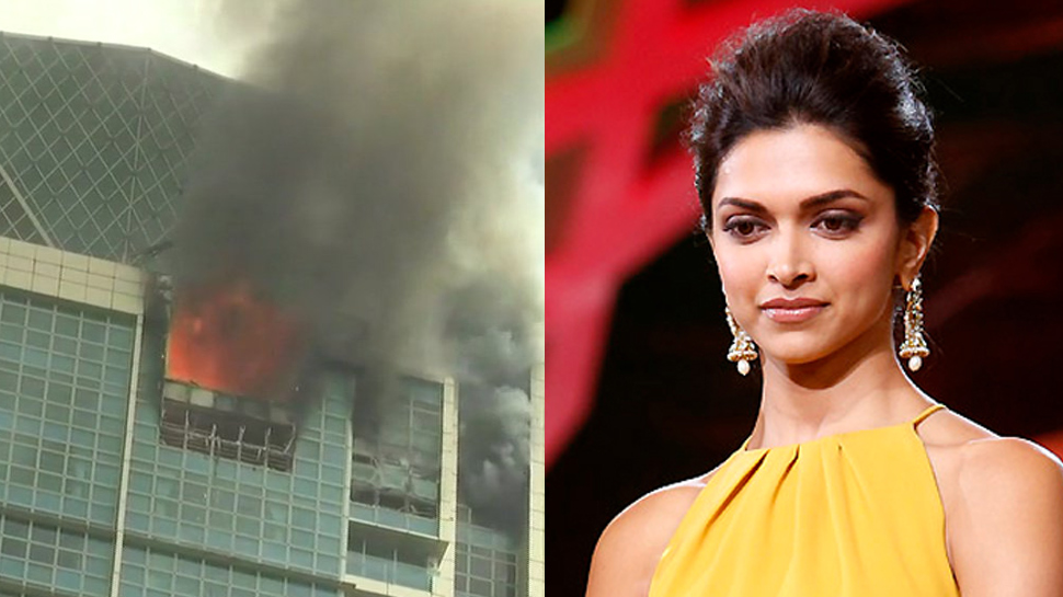 VIDEO મુંબઈ: દીપિકાનું ઘર છે તે ઈમારતમાં વિકરાળ આગ, અનેક લોકોને બચાવાયા