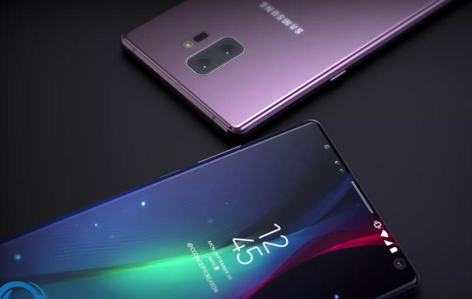 Galaxy Note 9 will be launched