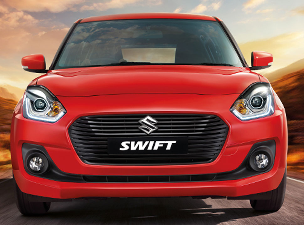 Maruti Swift top-end variants comes with auto gear shift option