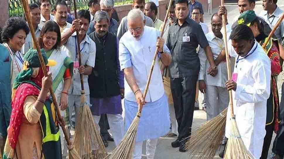 શનિવારે PM મોદી ચાલુ કરશે સ્વચ્છતા જ સેવા અભિયાન, દેશની અનેક હસ્તીઓ લેશે ભાગ