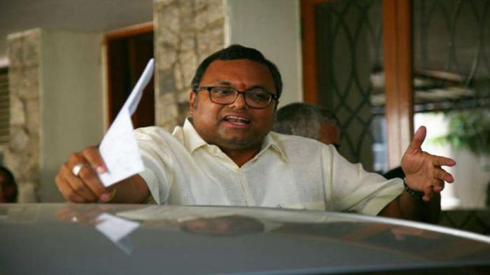 INX મીડિયા કેસ: કાર્તિ ચિદંબરમને મોટા ફટકો, ભારત-બ્રિટન-સ્પેનમાં 54 કરોડની સંપતિઓ જપ્ત