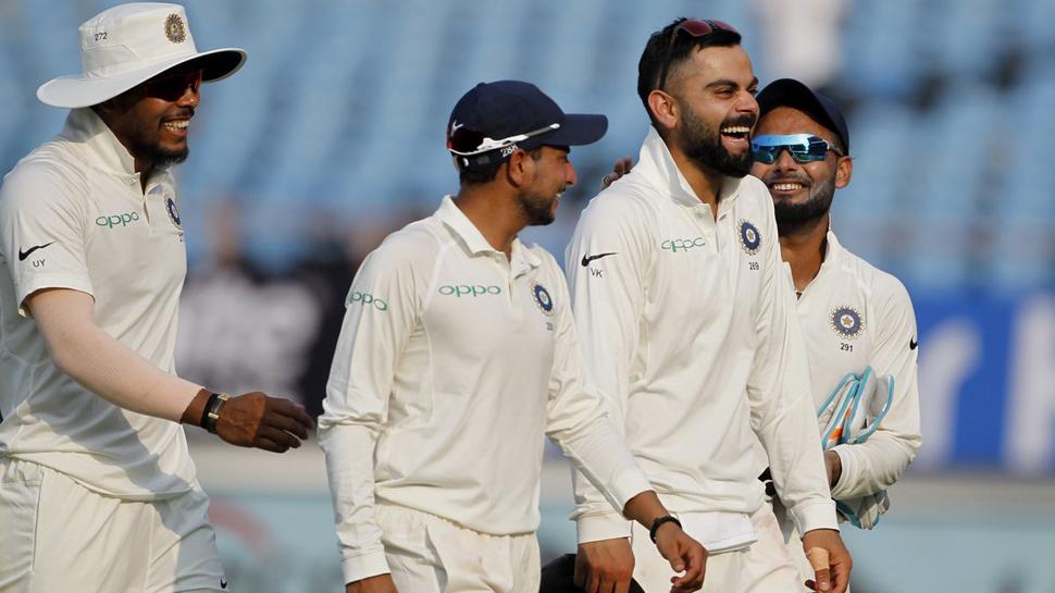 INDvsWI: હૈદરાબાદ ટેસ્ટ માટે 12 ખેલાડીઓના નામ જાહેર, મયંક અગ્રવાલ બહાર
