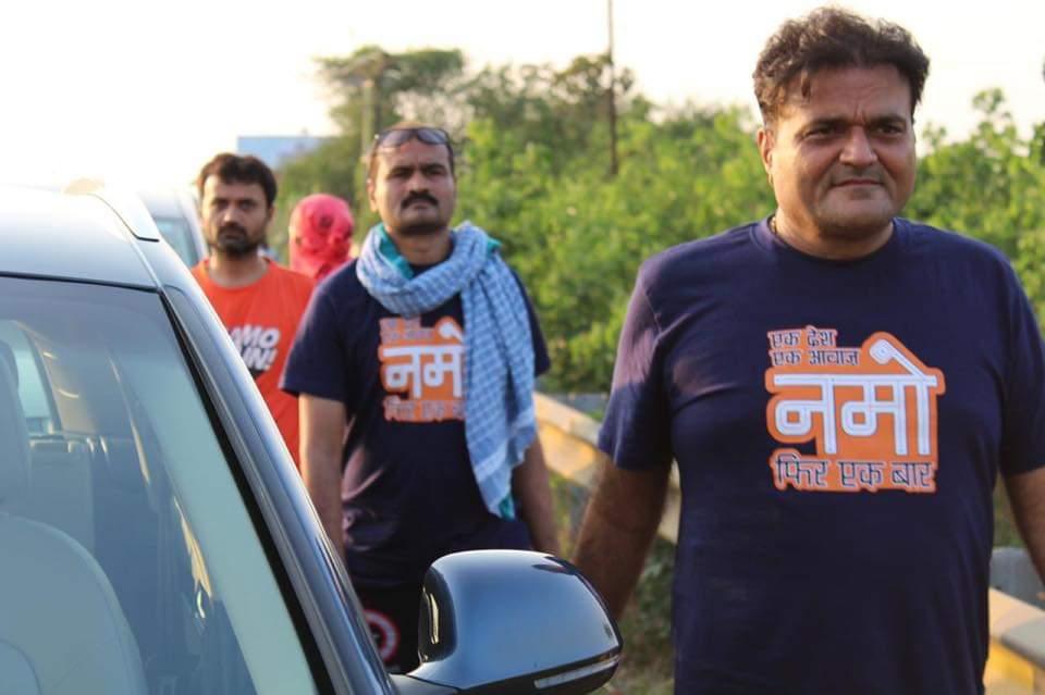 Surat based businessman walk to Shirdi seeking