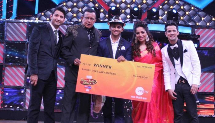 સંકેત ગાંવકરના કબજે કર્યો Dance India Dance Season 6 નો ખિતાબ