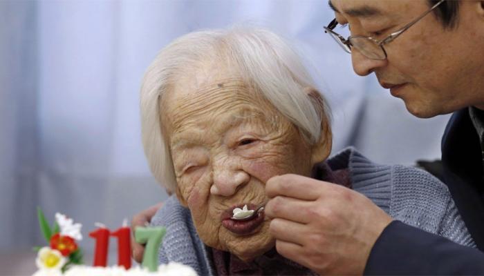 117 વર્ષની ઉંમરમાં દુનિયાની સૌથી વૃદ્ધ વ્યક્તિનું મોત