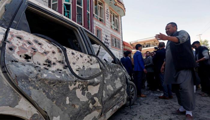 કાબુલમાં આત્મઘાતી હુમલામાં 31ના મોત, ISISએ લીધી જવાબદારી
