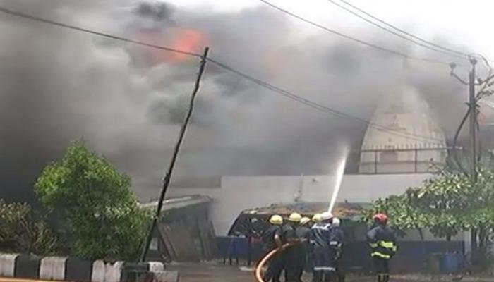 સુરતમાં મારૂતિ મિલમાં લાગી આગ, ફાયરની ટીમ ઘટનાસ્થળે, બ્રિગેટ કોલ જાહેર