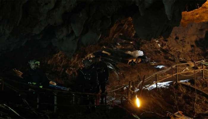 થાઇલેન્ડઃ ગુફામાંથી વધુ બે બાળકોને બહાર કઢાયા, હજુ પણ ફસાયેલા છે 7 સભ્યો