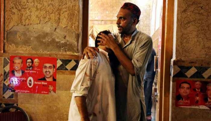 પેશાવરમાં આત્મઘાતી બોમ્બ બ્લાસ્ટ, ANP નેતા સહિત 14 લોકોના મોત, 65 ઘાયલ