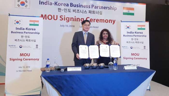 કોરીયા અને ગુજરાત વચ્ચે  થયા એમઓયુ, વેપાર અને ઔદ્યોગિક ક્ષેત્રે સંબંધો બનશે મજબૂત