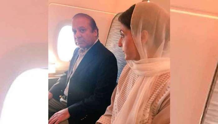 આજે પુત્રી મરિયમની સાથે પાકિસ્તાન પરત ફરશે નવાજ શરીફ, એરપોર્ટ થશે ધરપકડ