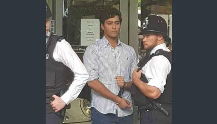 VIDEO: નવાઝ શરીફના પૌત્રએ લંડનમાં વિરોધ કરી રહેલા લોકોને માર માર્યો