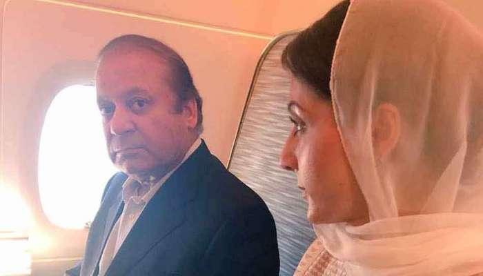 પાકિસ્તાનના પુર્વ વડાપ્રધાનશરીફ અને તેની પુત્રીની લાહોરથી ધરપકડ