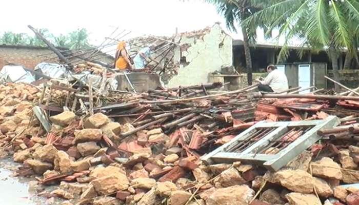 ભાવનગર જિલ્લામાં વરસાદથી છેલ્લા 24 કલાકમાં બે મોત, 15થી વધુ મકાન ધરાશાયી