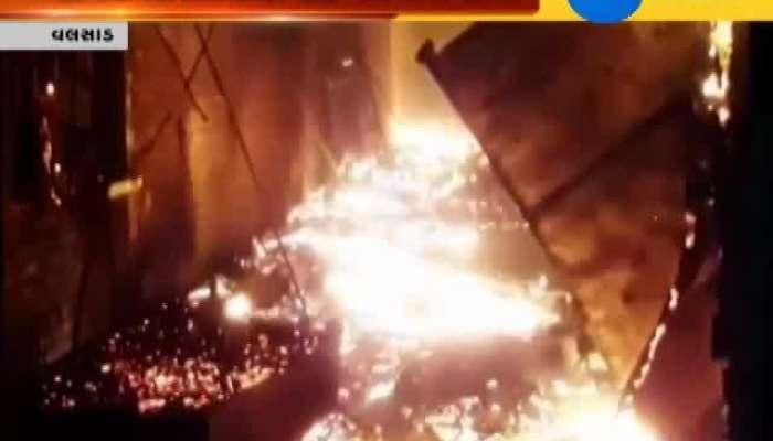 Valsad Massive fire engulfs Vrindavan Studio