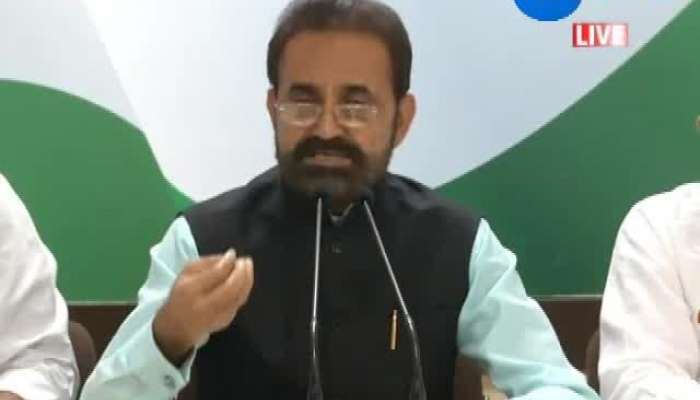 Congress leader Shaktisinh gohil's press conference