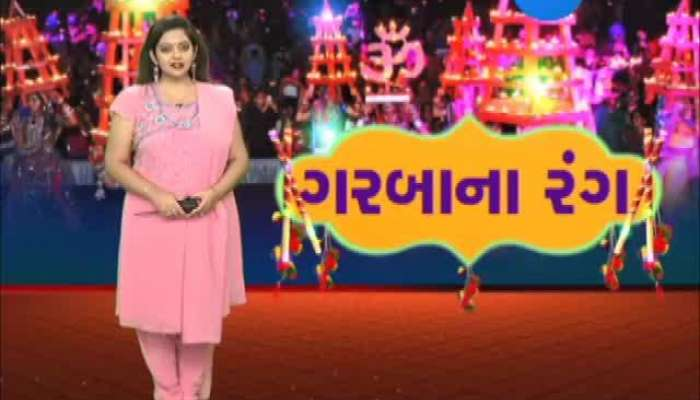 different style garba playing in Gujarat, Video