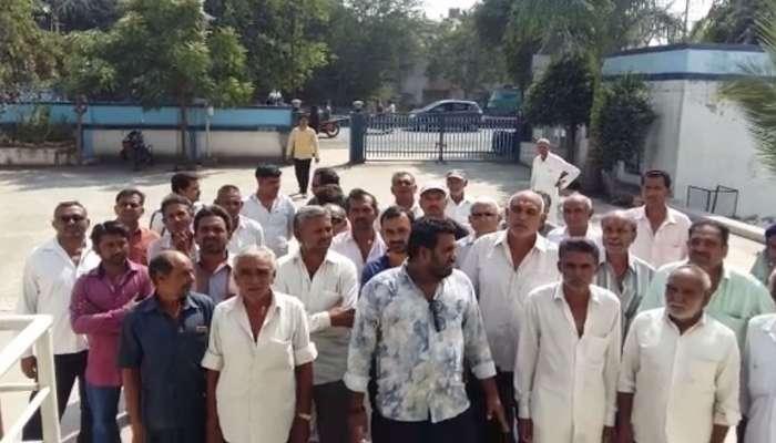 રાજકોટઃ જેતપુરના 6 ગામના 56 ખેડૂતોએ આત્મવિલોપનની અરજી આપતા ખળખભાટ
