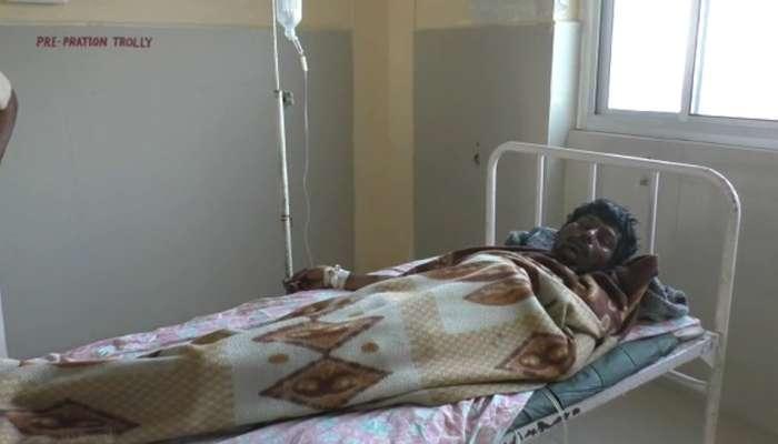 ઊંઝામાં પોલીસ મથકમાં અટકાયત કરાયેલ આરોપી સળગ્યો, પોલીસ પર ઉઠ્યા સવાલો
