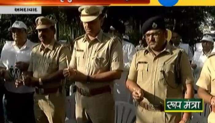Ahmedabad police celebrating World remembrance day