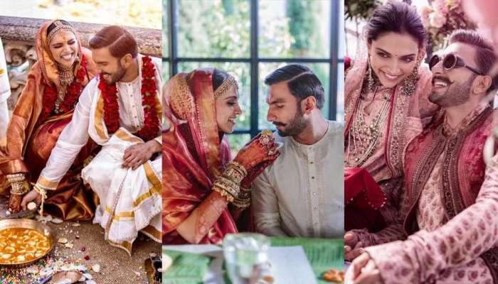 દીપિકા પાદુકોણ રણબીર સિંહના લગ્નનો Photo Album, મહેંદીમાં મસ્ત થઈને નાચી હતી 'મસ્તાની'