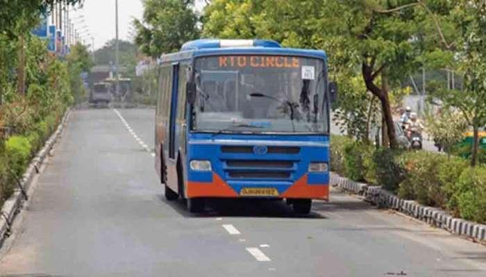 No Means No: ટ્રાફીક પોલીસનું કડક વલણ 10 BRTS બસ ડિટેઇન, 5ની ધરપકડ