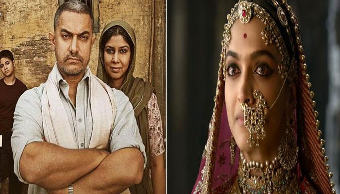 ಅಮೀರ್ ಖಾನ್ ಚಿತ್ರದ ದಾಖಲೆಗಳನ್ನು ಮುರಿದ 'ಪದ್ಮಾವತ್'
