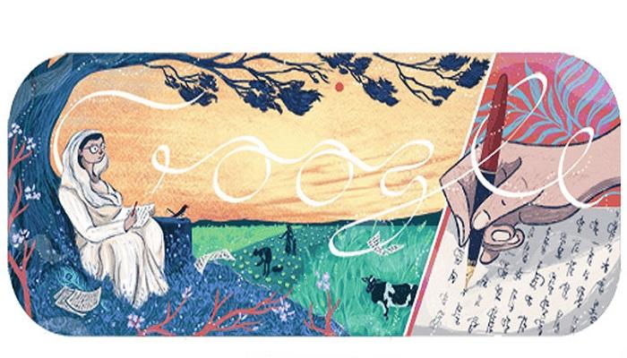 ಜ್ಞಾನಪೀಠ ಪುರಸ್ಕೃತೆ ಮಹಾದೇವಿ ವರ್ಮಾಗೆ ಗೂಗಲ್ ಡೂಡಲ್ ಗೌರವ