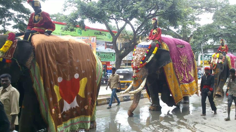 ನಾಡಹಬ್ಬ ದಸರಾ ಗಜಪಯಣಕ್ಕೆ ಮುಹೂರ್ತ ಫಿಕ್ಸ್