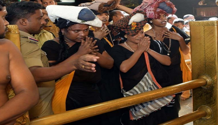 ಶಬರಿಮಲೆ ದೇವಸ್ಥಾನದಲ್ಲಿ ಅಯ್ಯಪ್ಪನ ದರ್ಶನ ಪಡೆದ ತೃತೀಯಲಿಂಗಿಗಳು