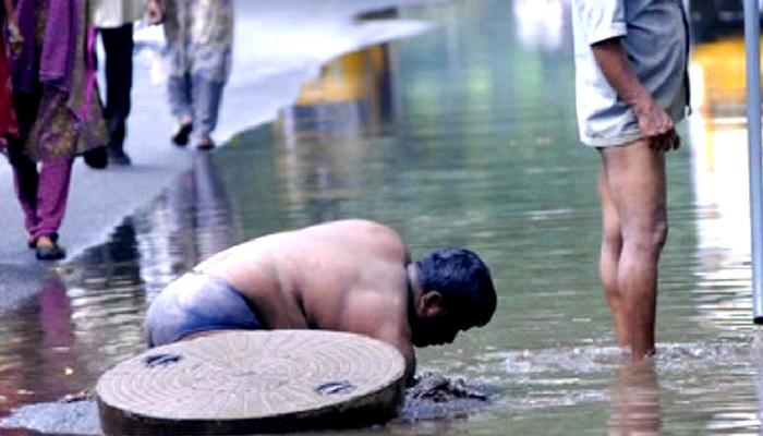சாக்கடை விஷ வாயு தாக்கி 3 துப்புரவாலாளர்கள் பலி