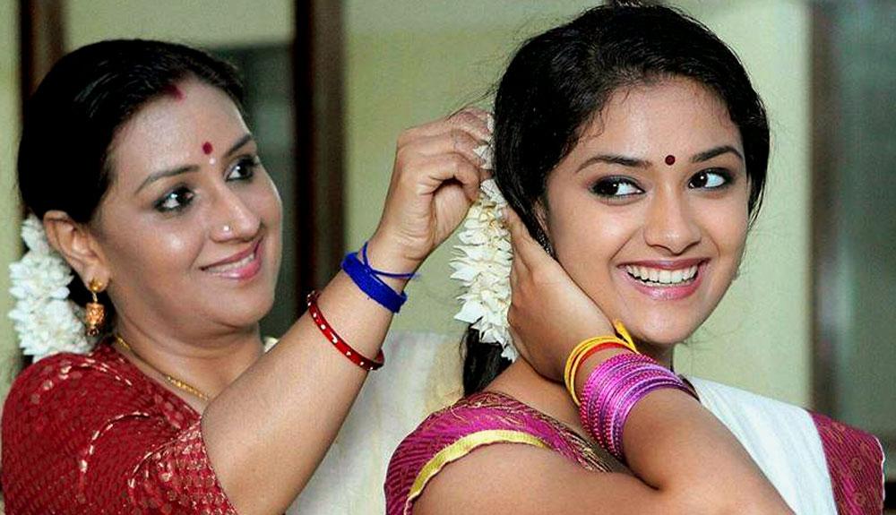 கீர்த்தி சுரேஷ் - மேனகா