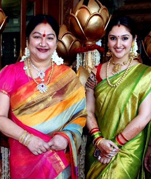 ஸ்ரீதேவி விஜயகுமார் - மஞ்சுளா விஜயகுமார்