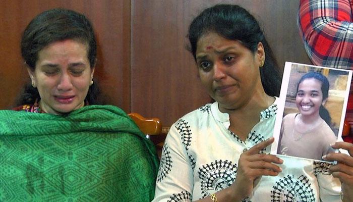 நடிகை டிஸ்கோ சாந்தி, லலிதாகுமாரியின் சகோதரன் மகள் மாயம்!