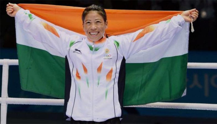 Asian boxing champion: 5வது முறையாக மேரி கோம் தங்கம் வென்று சாதனை