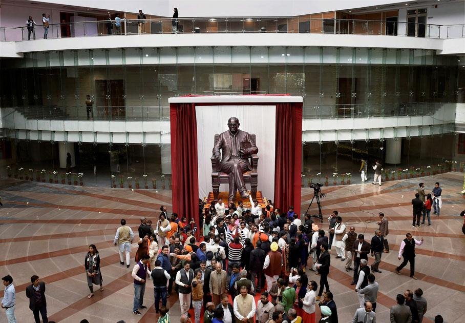 PM Narendra Modi inaugurates Dr. Ambedkar International Centre