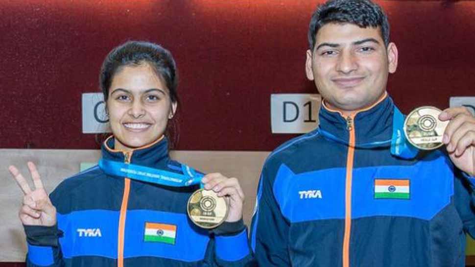 துப்பாக்கிசுடுதல் உலக கோப்பை போட்டியில் இந்தியாவிற்கு தங்கம்!