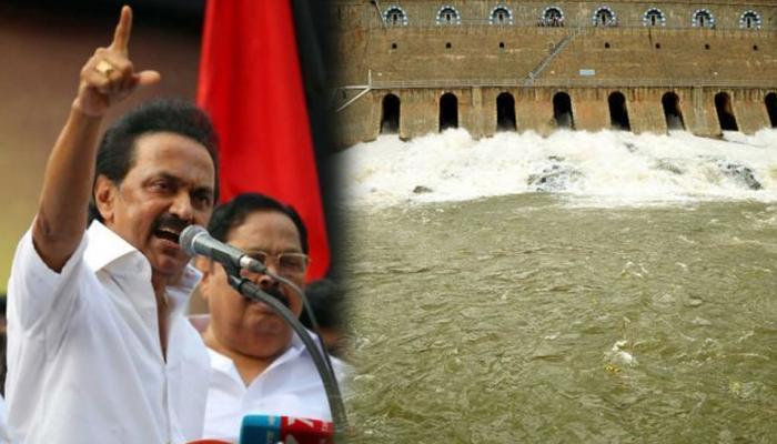 #CauveryIssue: வரும் 23-இல் மனிதச் சங்கிலிப் போராட்டம்! ஸ்டாலின்!!