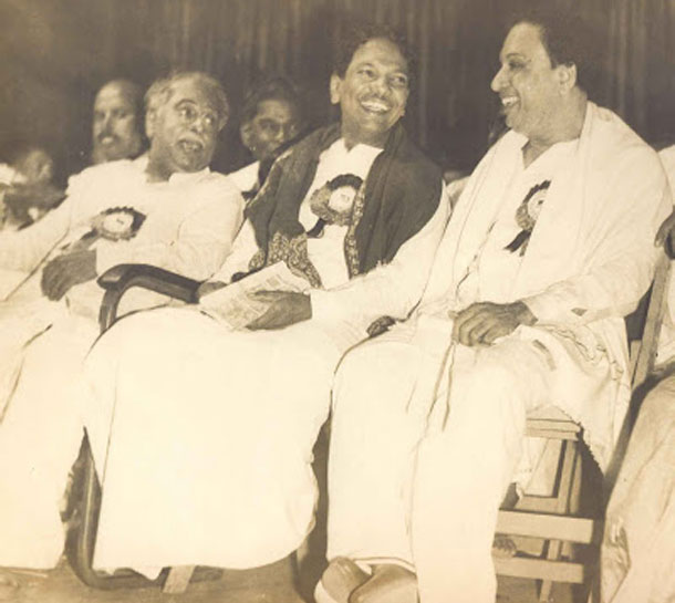 Black and White photos of Kalaignar Karunanidhi -See
