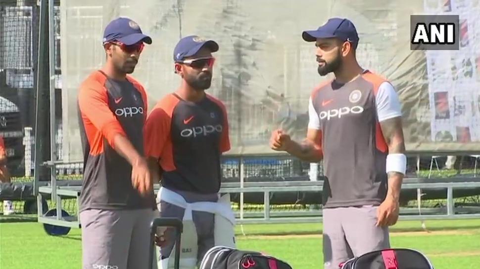 SeePics: 2-வது Test-க்கு கடும் பயிற்சி மேற்கொள்ளும் இந்தியா!