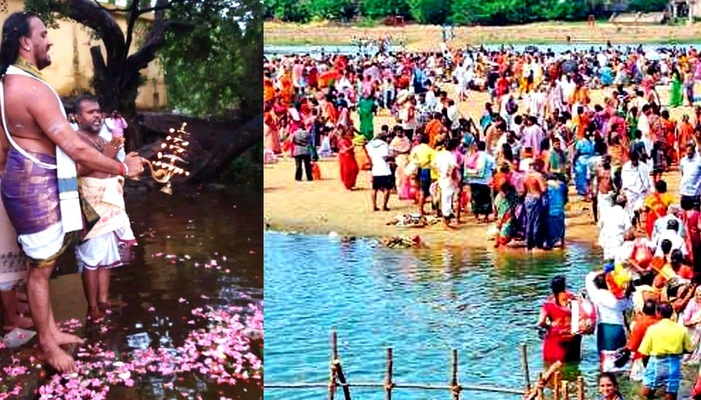 144 ஆண்டுகளுக்கு ஒருமுறை நடைபெறும் தாமிரபரணி மகாபுஷ்கர விழா துவங்கியது!!