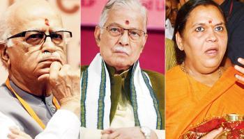 பாபர் மசூதி வழக்கு: அத்வானி, மனோகர் ஜோஷி, உமாபாரதி நேரில் ஆஜராக சிபிஐ உத்தரவு