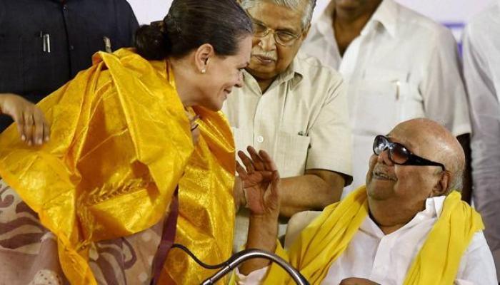 சட்டமன்ற தேர்தல் 2016  புதுச்சேரியில் காங்கிரஸ் திமுக கூட்டணி ஆட்சி