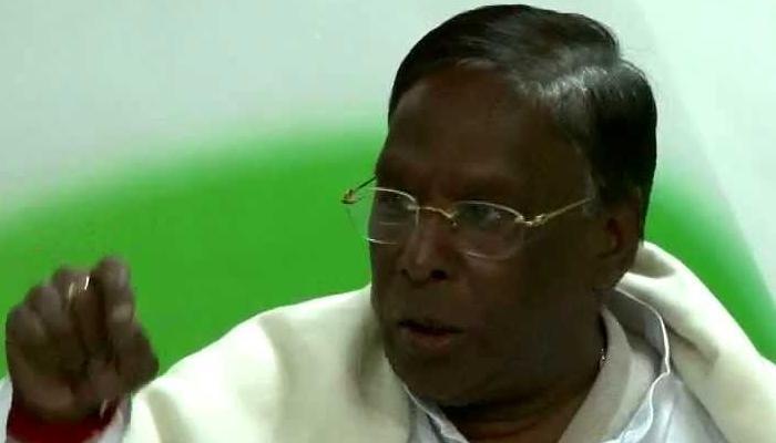 புதுச்சேரி முதலமைச்சராக நாராயணசாமி தேர்ந்தெடுக்கப்படுகிறார்