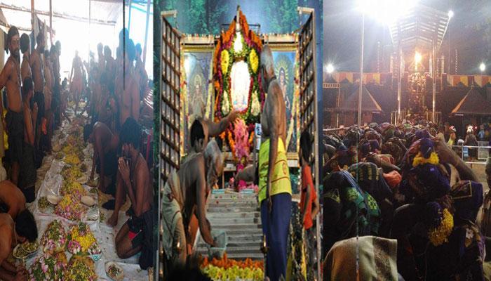 மண்டல கால பூஜைகளுக்காக சபரிமலை கோயில் நடை திறப்பு