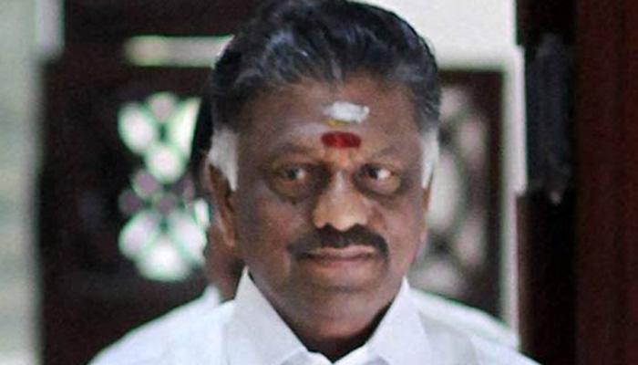 டிஜிபி ராஜேந்திரனுடன் முதல்வர் ஓபிஎஸ் ஆலோசனை