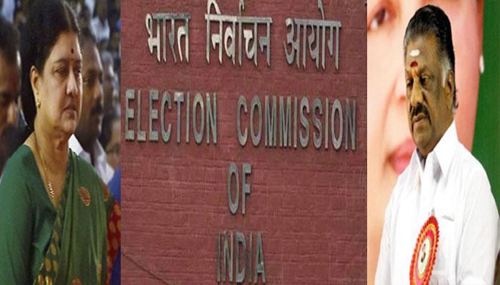 இரட்டை இலை விவகாரம்: சின்னத்தைத் தேர்வு செய்ய வேண்டும்- தேர்தல் ஆணையம்