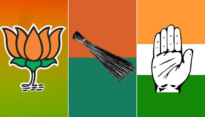 டெல்லி மாநகராட்சி தேர்தல்: பா.ஜனதா முன்னிலை, ஆம் ஆத்மிக்கு 2-வது இடம்