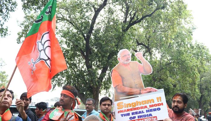 டெல்லி மாநகராட்சி தேர்தல் வெற்றியை கொண்டாட வேண்டாம் - பா.ஜனதா